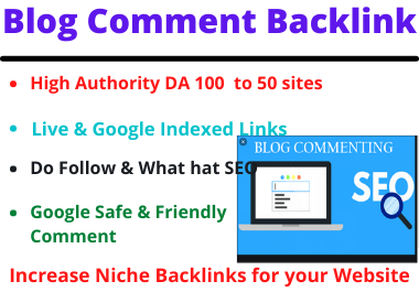 I will do 80 Blog Comments on high DA PA Manually to website