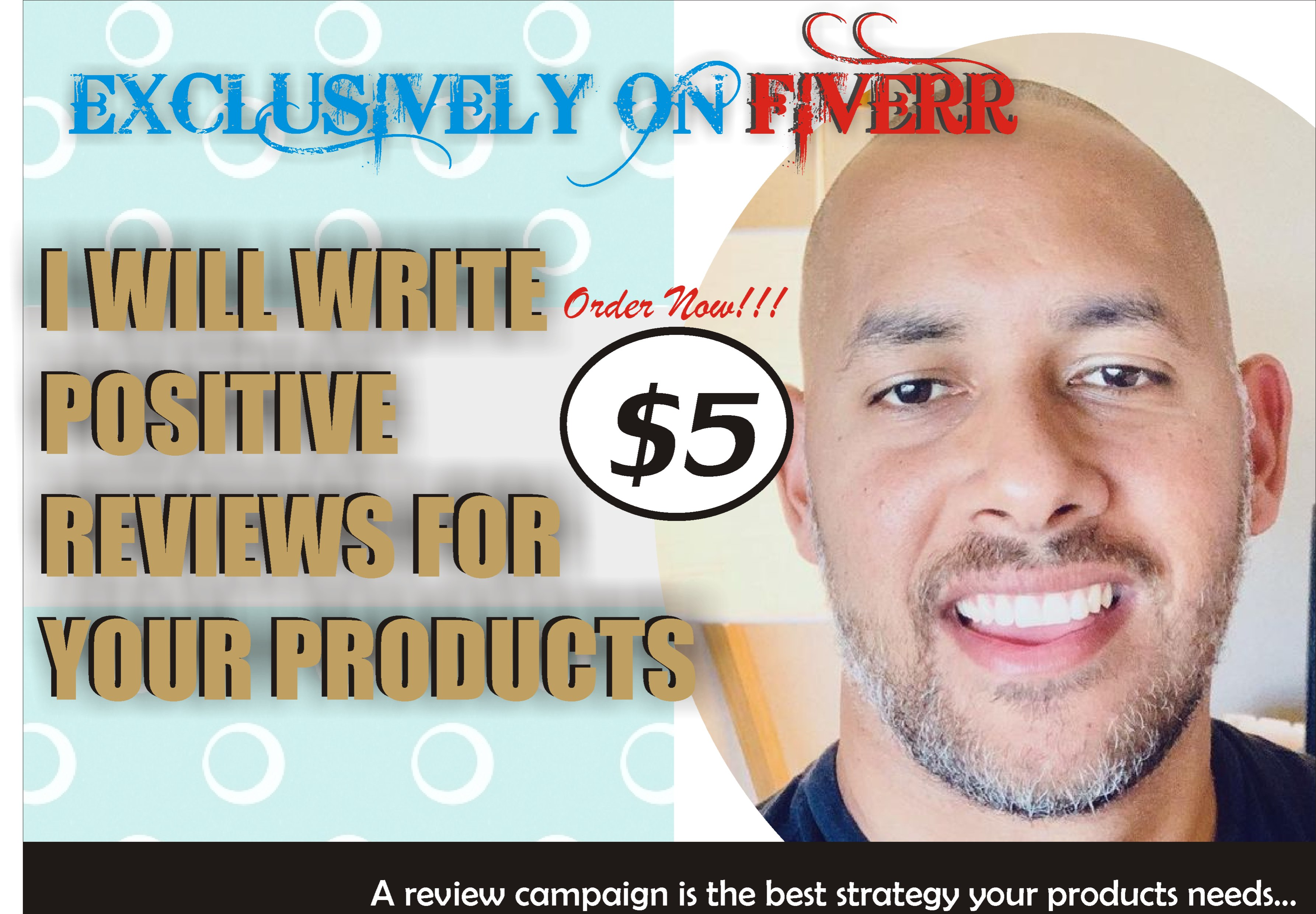 I will write products reviews to boost sales