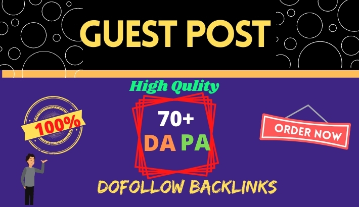 I will publish 12 High Quality guest post SEO backlinks on 80+ DA sites