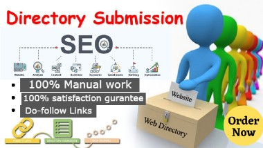 I will provide 40 Directory Submission SEO Backlinks