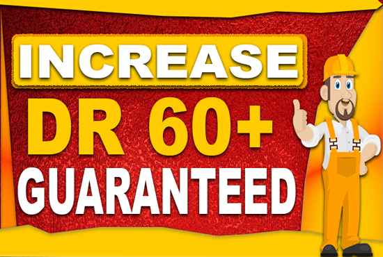 Increase ahrefs domain rating DR 50 with dofollow backlinks
