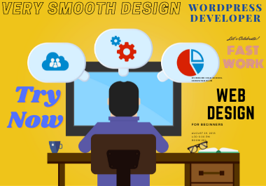 Create a responsive wordpress website and design.
