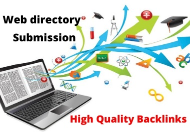 I will provide 50 web Directory Submission backlinks Manually