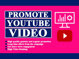 Active Youtube promotion for your video boost