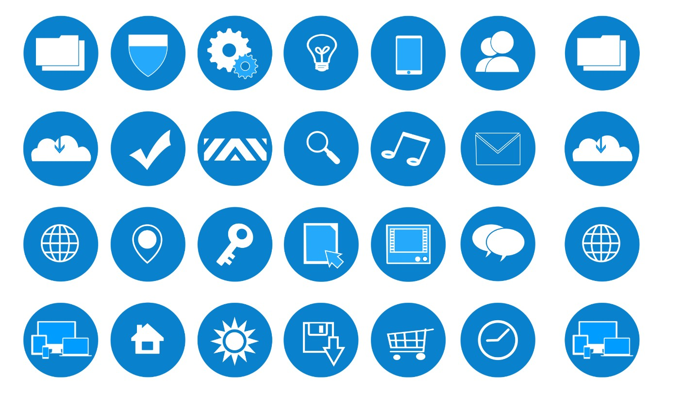 I will design Custom icon set for your business app or website
