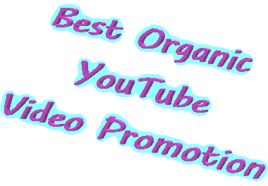 Active and Non drop Organic YouTube Video Promotion