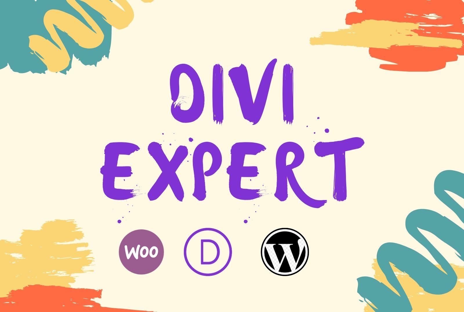 I will design your divi wordpress website by divi theme or divi builder
