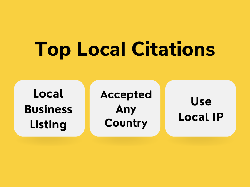 I will do 50 local citations manually and directory submission