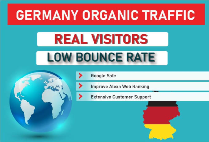 I Will Drive Unlimited Targeted Traffic From Germany For your Website or Blogsite