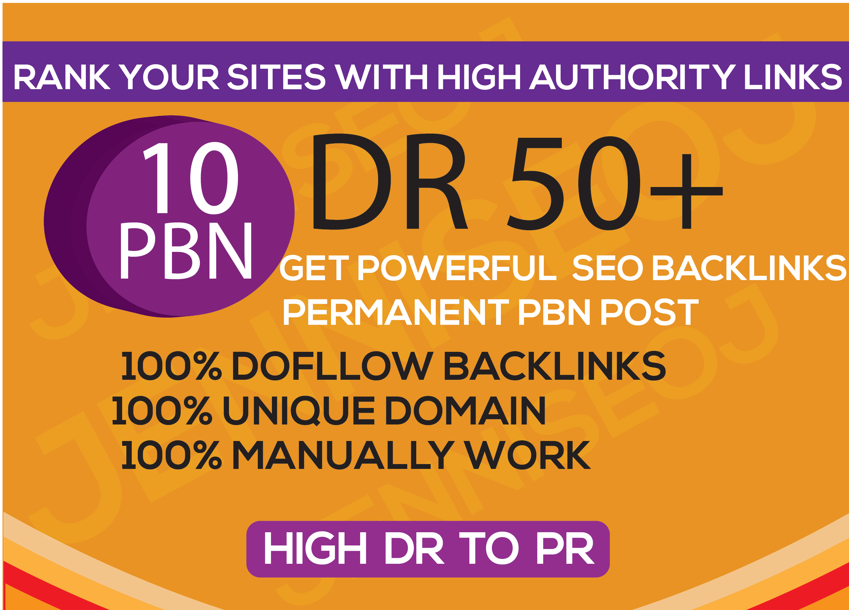 Create PBN 15 Manual High Dr50 plus Homepage Dofollow Backlinks SEO