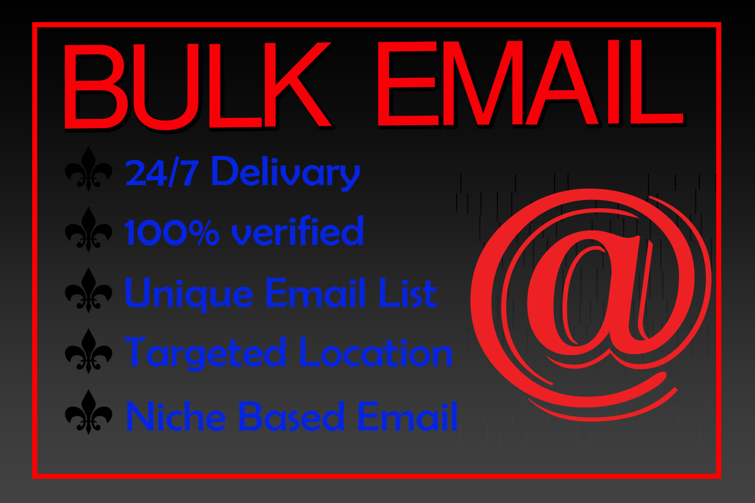 I will collect niche-targeted Bulk Email
