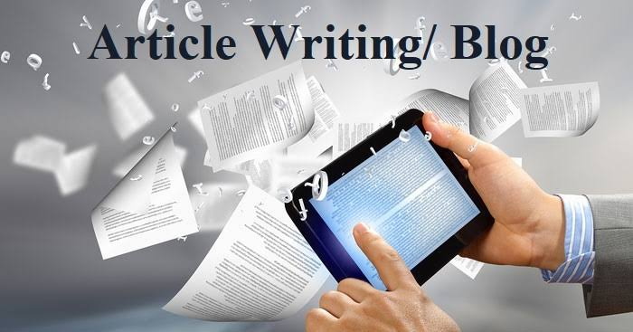 I will write 2× 500 words article for your website or blog.