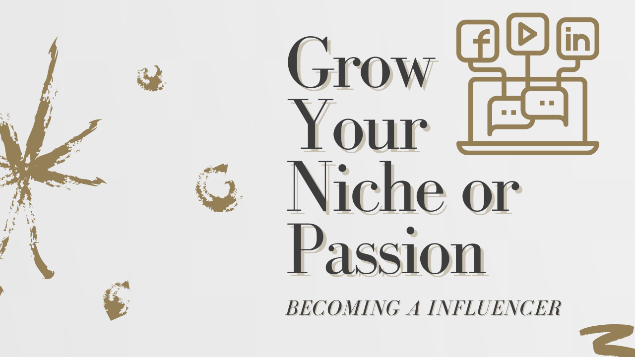 Grow Your Niche Logo,  Brand Design. Also Video editing. Please message me your request