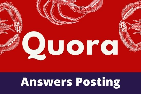 I Will do Promote Your Website 10 High Quality Quora Answers posting with target Traffic
