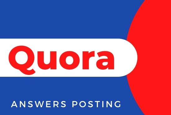 I Will do Promote Your Website with 5 High Quality Quora Answers posting