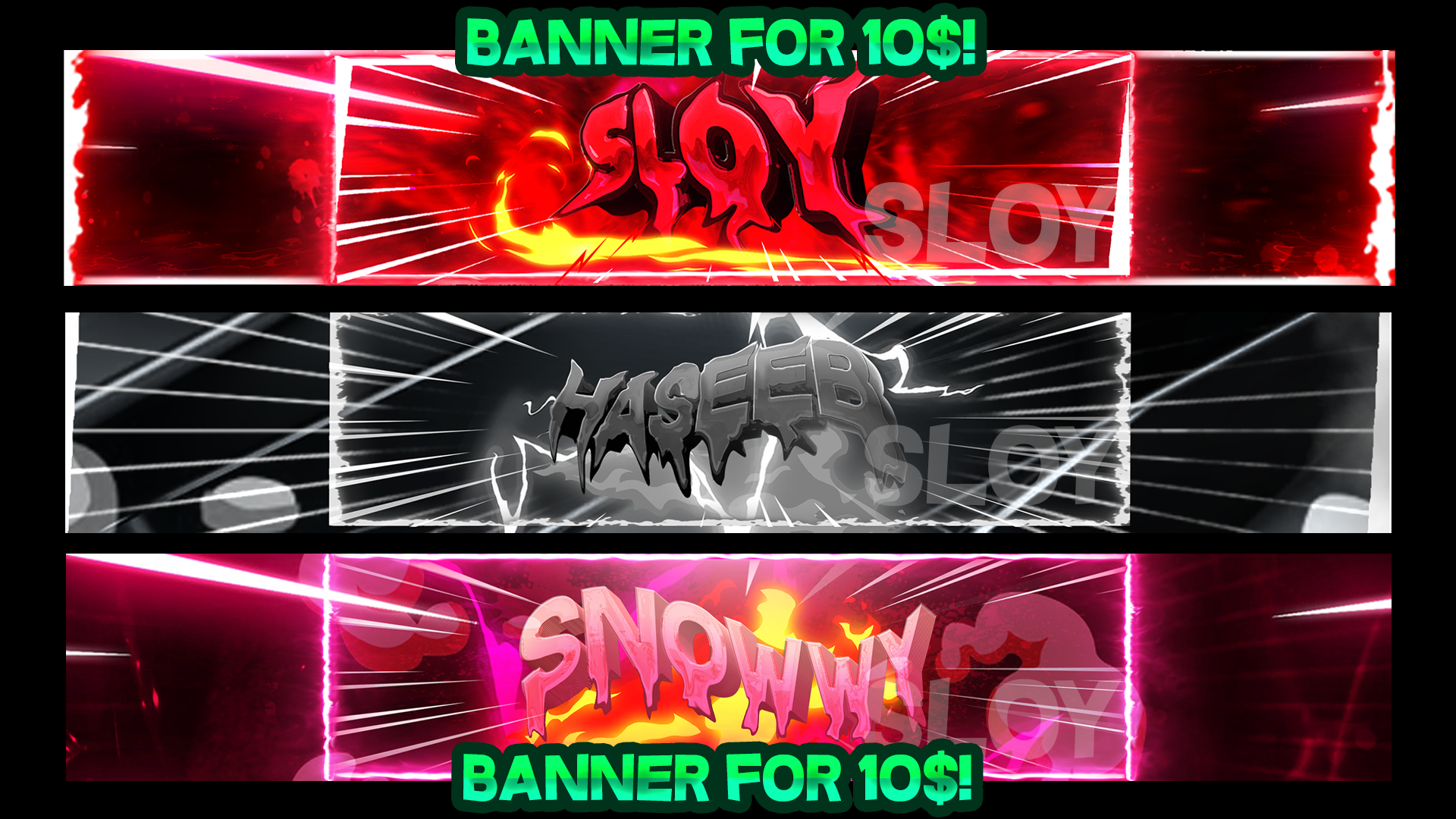 I will Design You an Gaming Banner