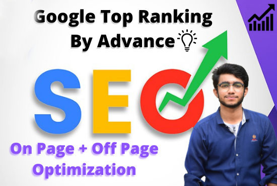 I will optimize your website for Top google ranking by Best SEO service