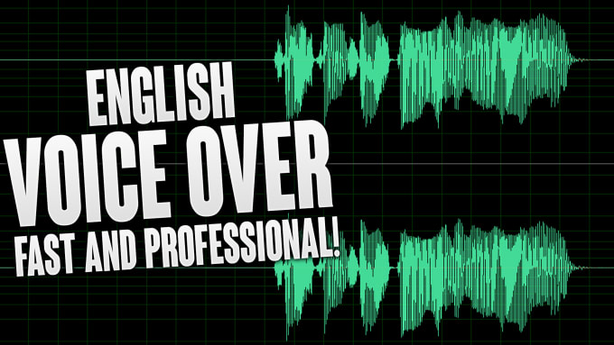 I will record a world class American male or female voiceover