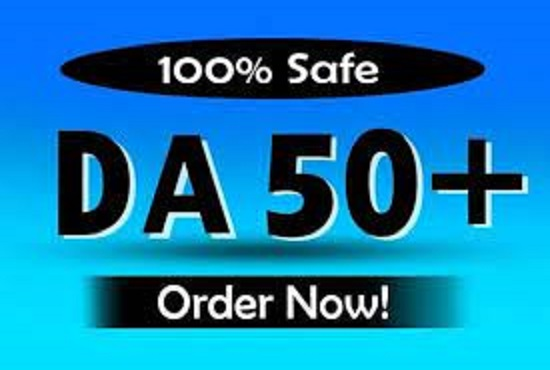 I will provide you 10 domain authority 50 plus high quality pbn backlinks for good seo result