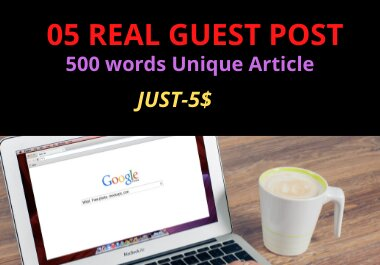 5 Guest Post on DA 89+ to Boost your google Ranking