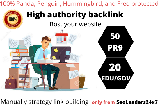 I will Build 50 High Da profile link and 20 EDU/GOV Profile link on High Domain Authority Sites