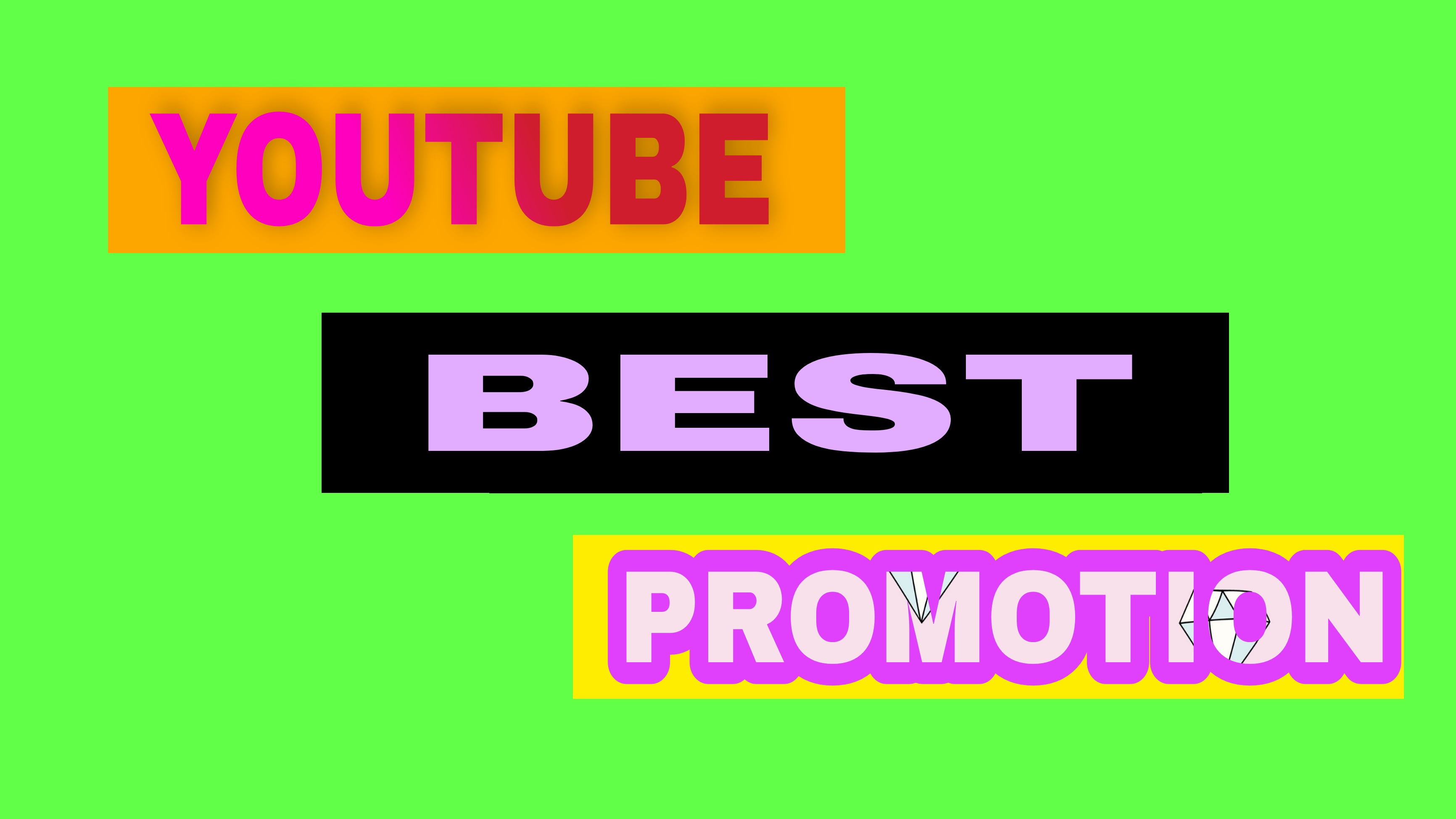 Social media promotion and digital marketing by world wide real users