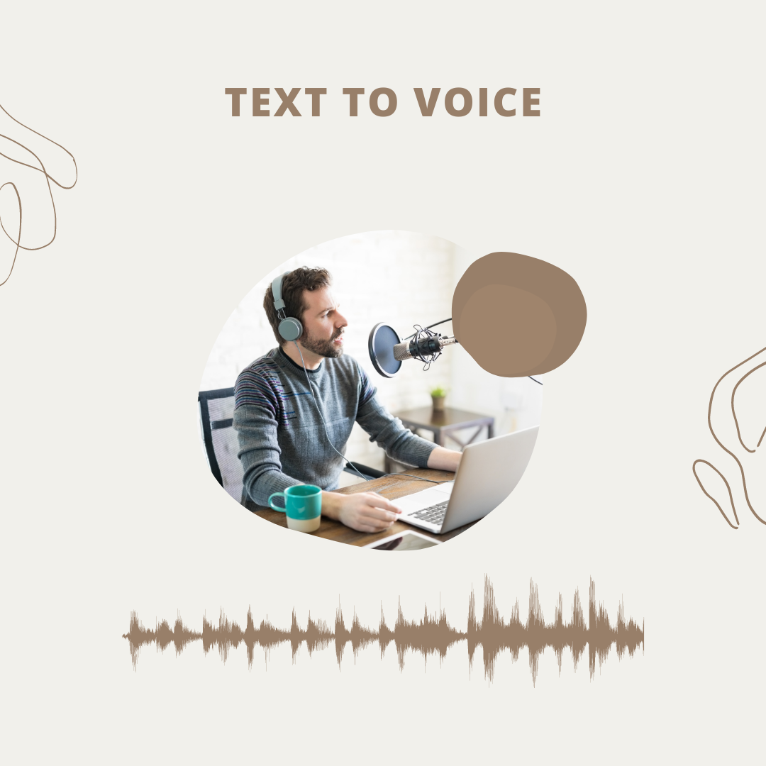 I'll record a professional voice over for your text.