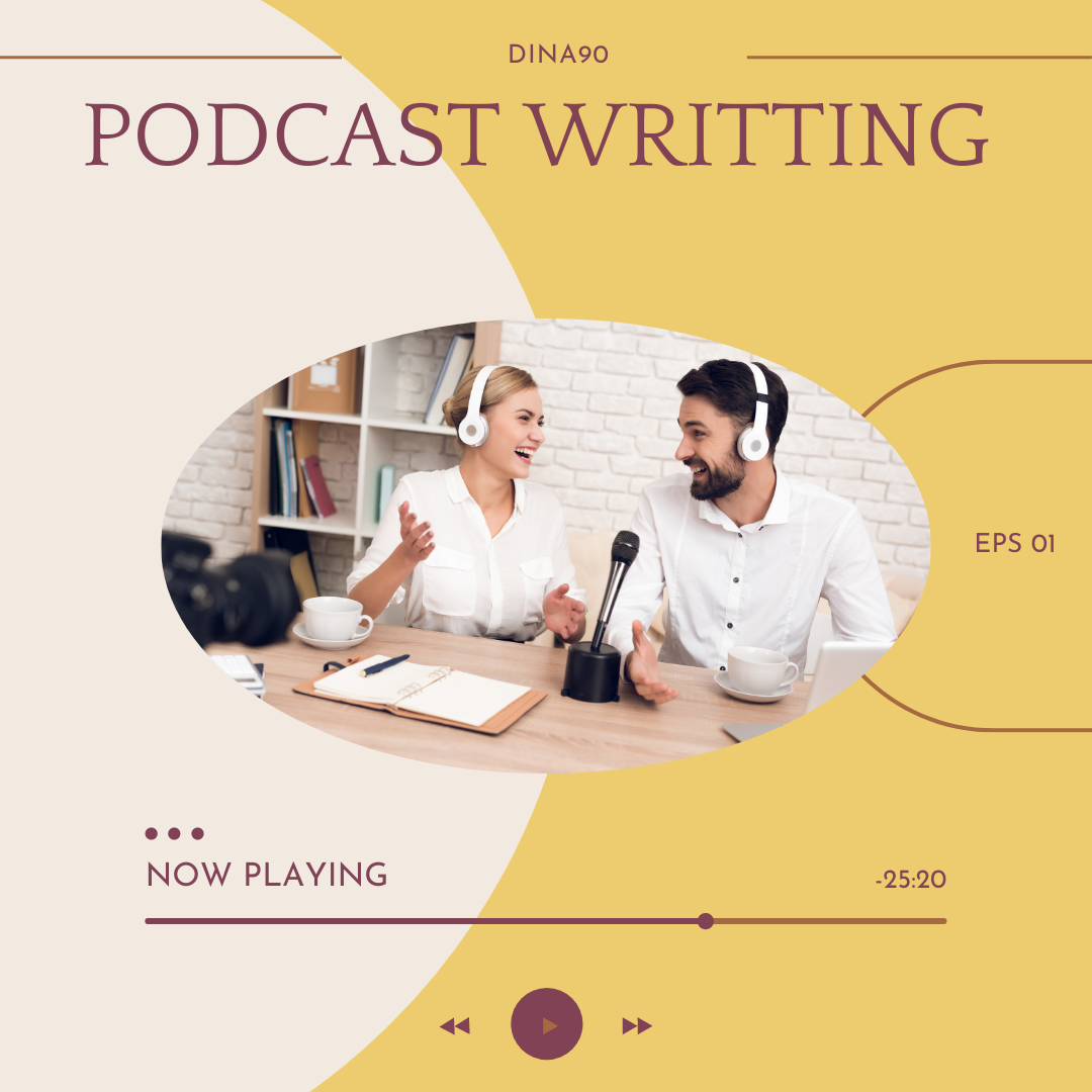 I'll write your podcast show notes that are geared for SEO.