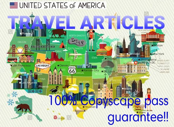 I Write a Travel Article of 1000 + words or Blog post for targeted audience