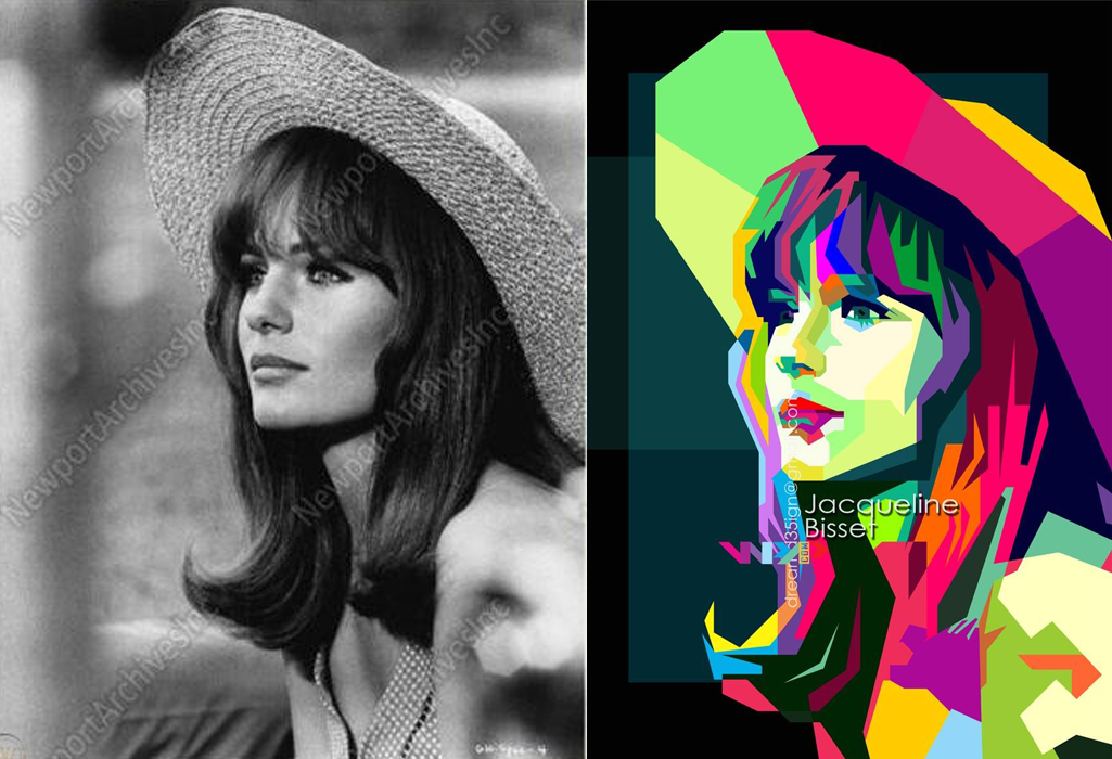 Make Over Your Photo To Pop Art WPAP Style