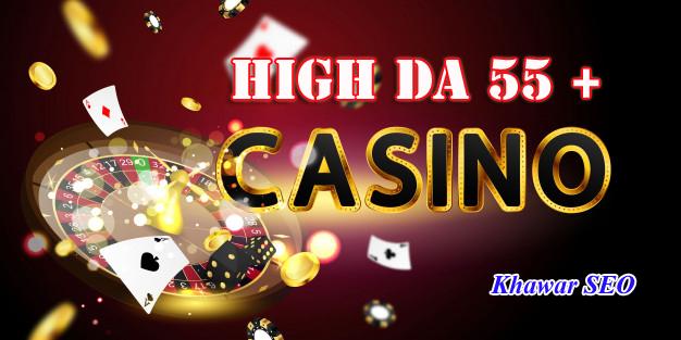 Get 100 High DA 55+ judi bola,  casino,  poker and gambling Pbn Backlinks.