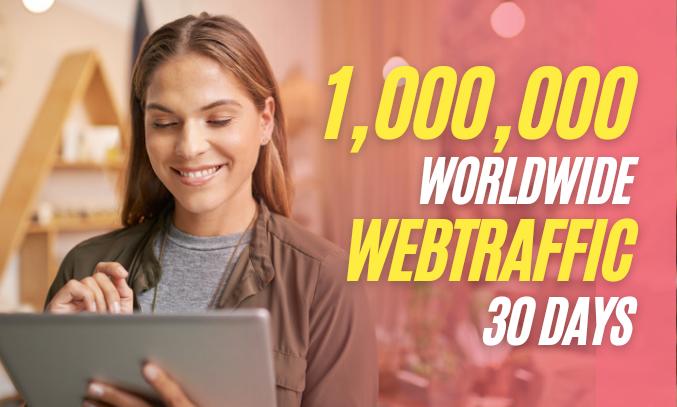 1 Million Worldwide Website Traffic From Search Engine