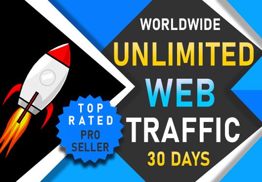 I will drive worldwide 1000 daily website traffic