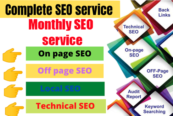 I will provide best monthly off page SEO service for google ranking