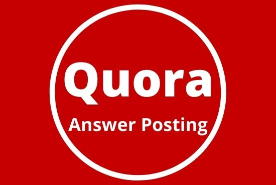 Boost your website with 5 High quality Quora Answers with contextual links