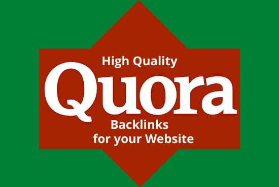 Promote your website traffic with 10 High Quality Quora Answers with a contextual link