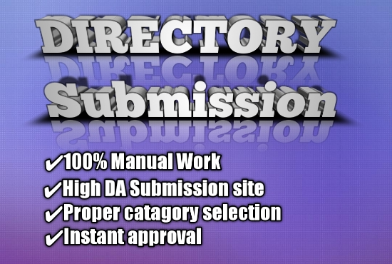 Guaranteed promote 200 high DA USA directory submission with instant approval