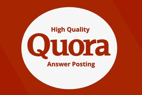 Promote your website traffic with 5 High Quality Quora Answers with a contextual link