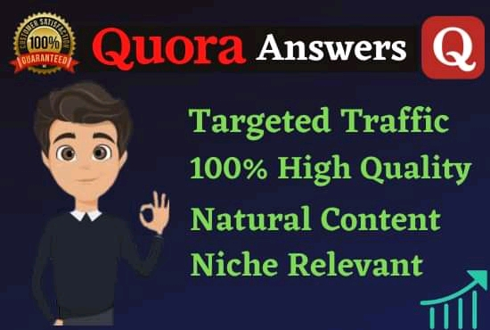 Guaranteed Targeted Traffic from your Website 10 High Quality Quora Answers