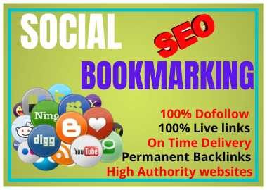 I Will Write and Publish 80 Social Bookmarking Dofollow Backlinks