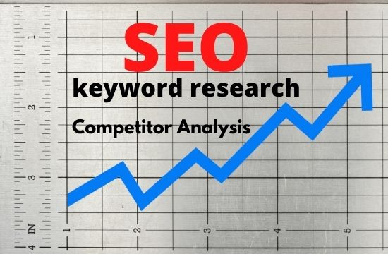 do SEO keyword research,  and competitor analysis perfectly