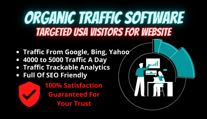 Organic Traffic Software For Website Targeted USA Visitors