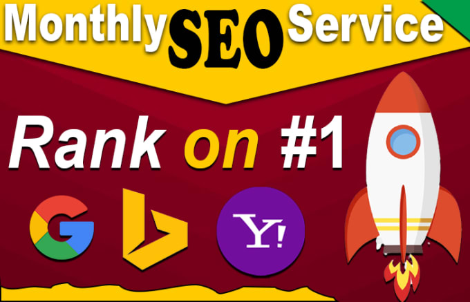I do complete monthly SEO services to improve google ranking