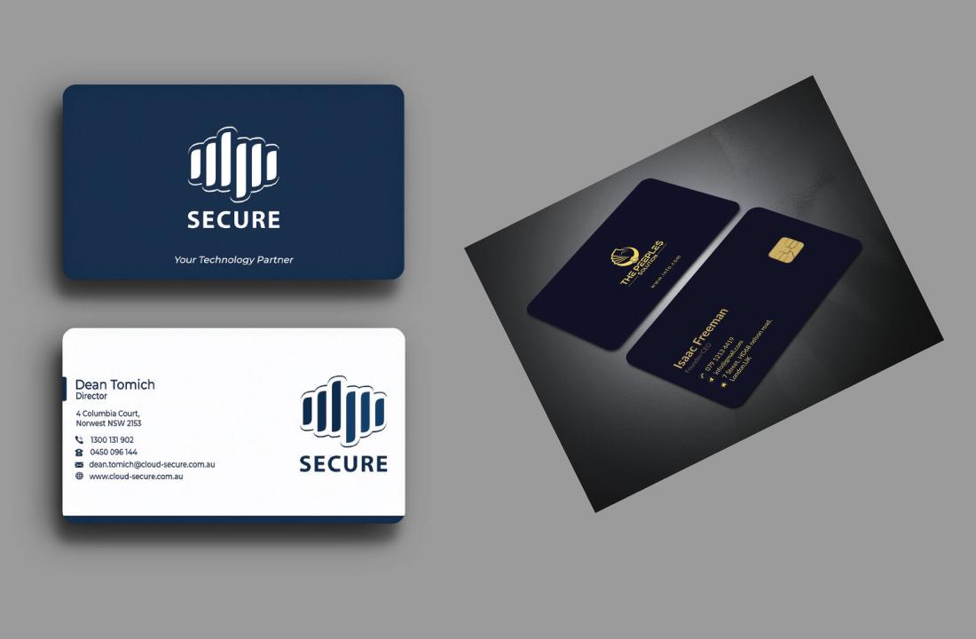 I will design outstanding luxury unique custome business card design