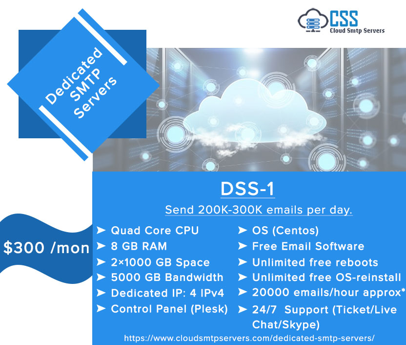 Cloud SMTP Servers-Email Marketing Campaign