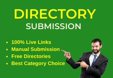 I will provide 50 Dofollow directory submission for website ranking.