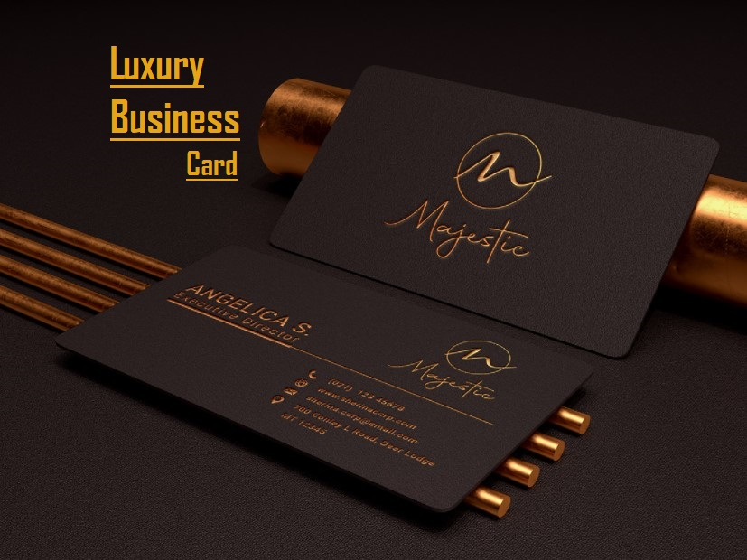 I am an expert in creating Professional business Card Design