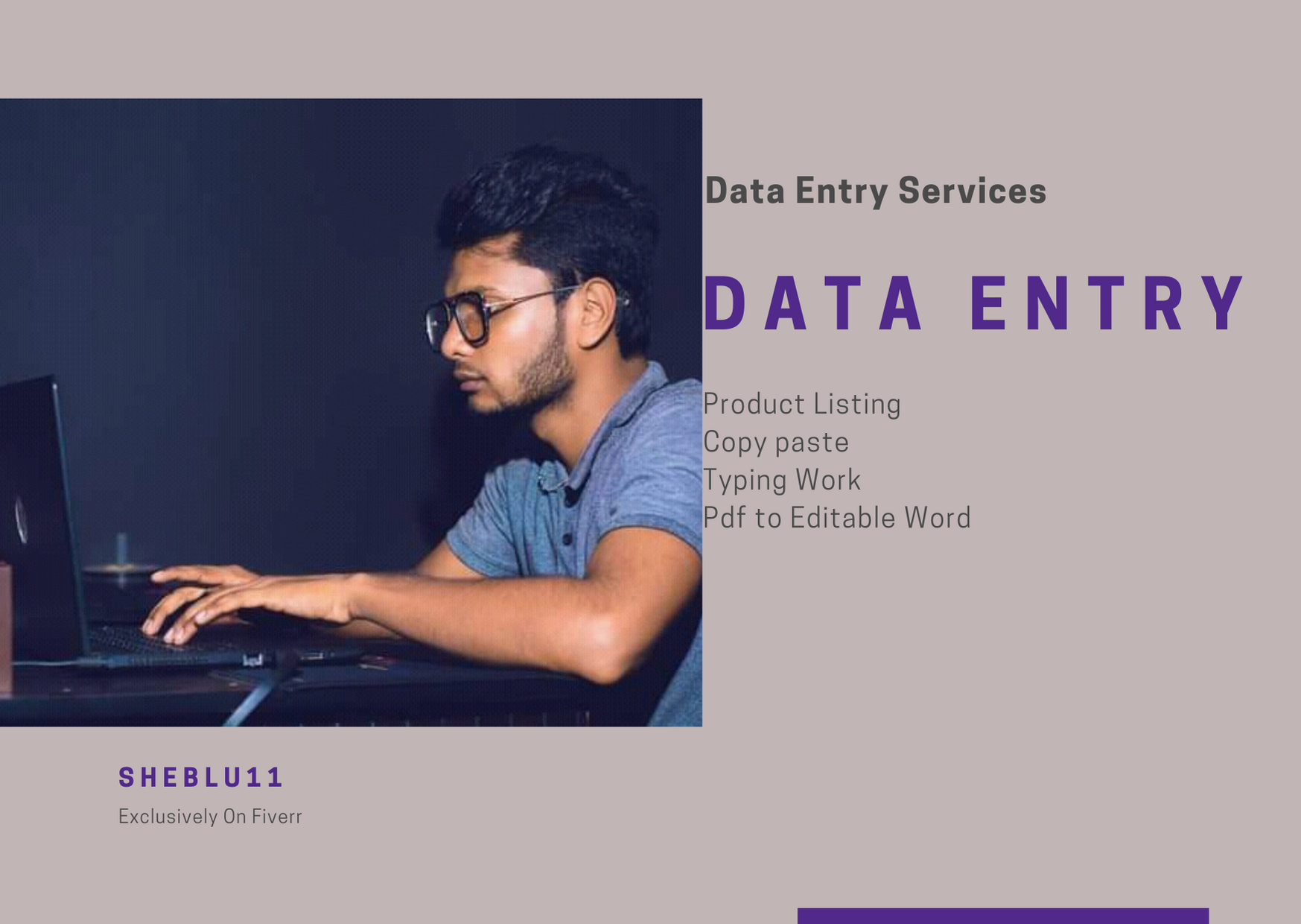 I will do Online or Ofline Data Entry, Copy and Paste Work for you