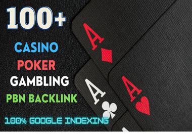 100+ permanent DA 58-30+ Backlinks Casino,  Gambling,  Poker,  Judi Related Websites