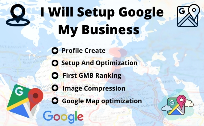 I will Do Setup Google Map for GMB Optimization with Local SEO
